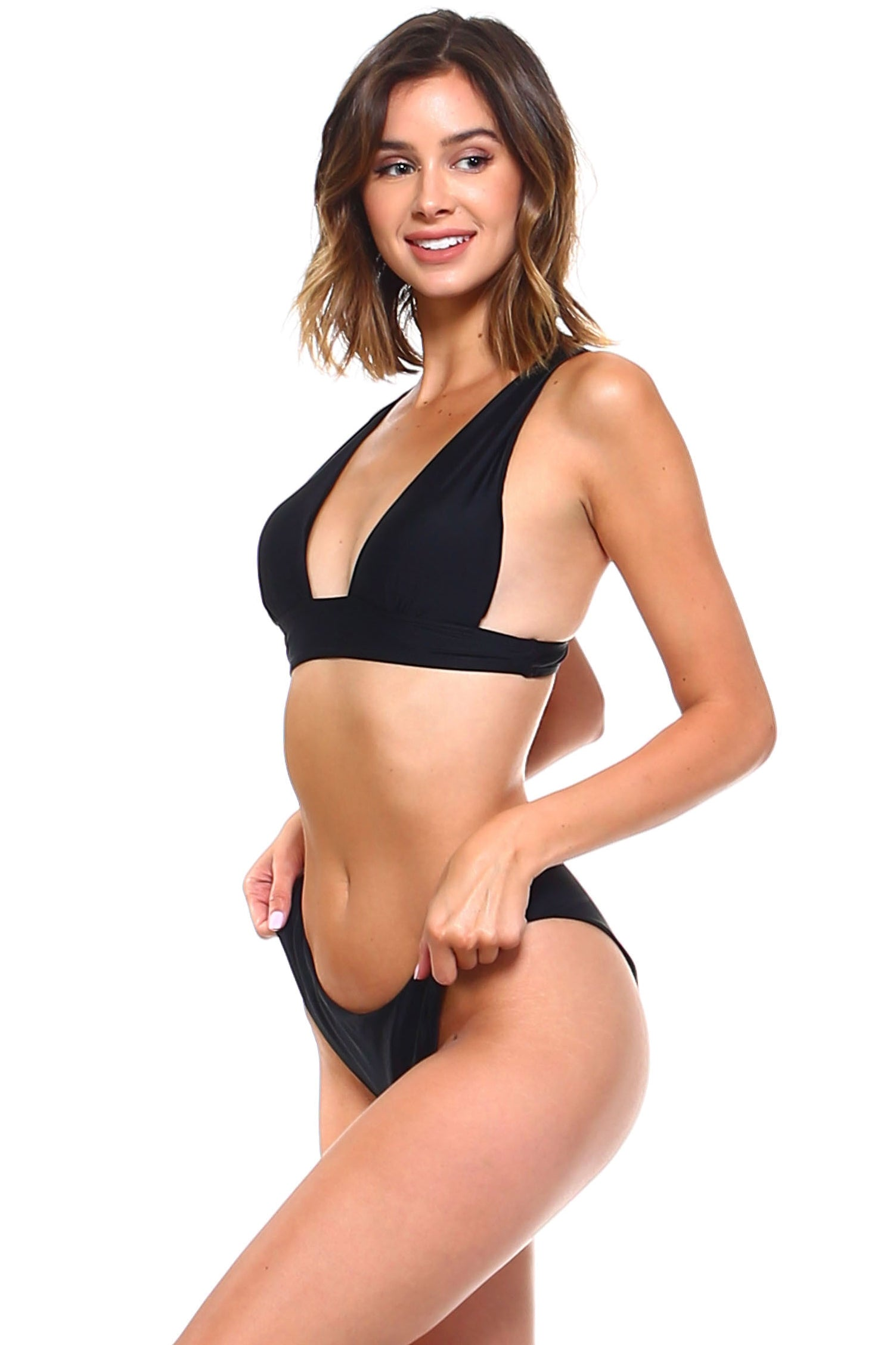 Triangle Top Two Piece Bikini Set
