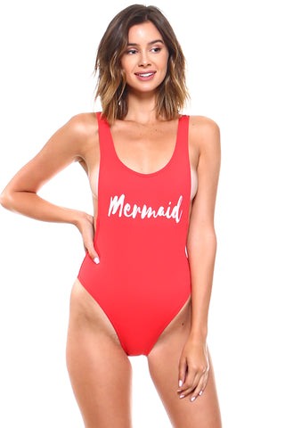 Mermaid One-Piece Swimsuit