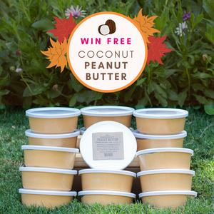 Back-to-School Giveaway - Win Free Coconut Peanut Butter