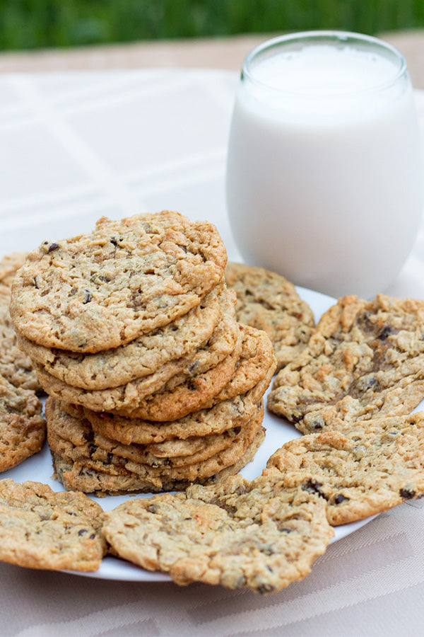 Coconut Peanut Butter Chocolate Chip Cookies - Aloha Spreads