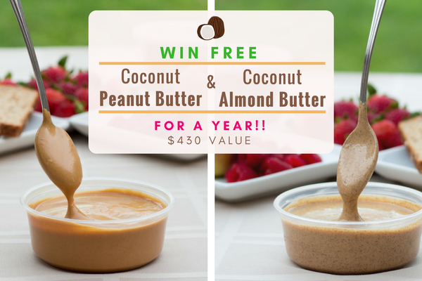 Coconut Peanut Butter & Coconut Peanut Butter Giveaway - Official Rules header