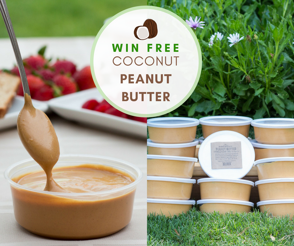 Win Free Coconut Peanut Butter - Aloha Spreads