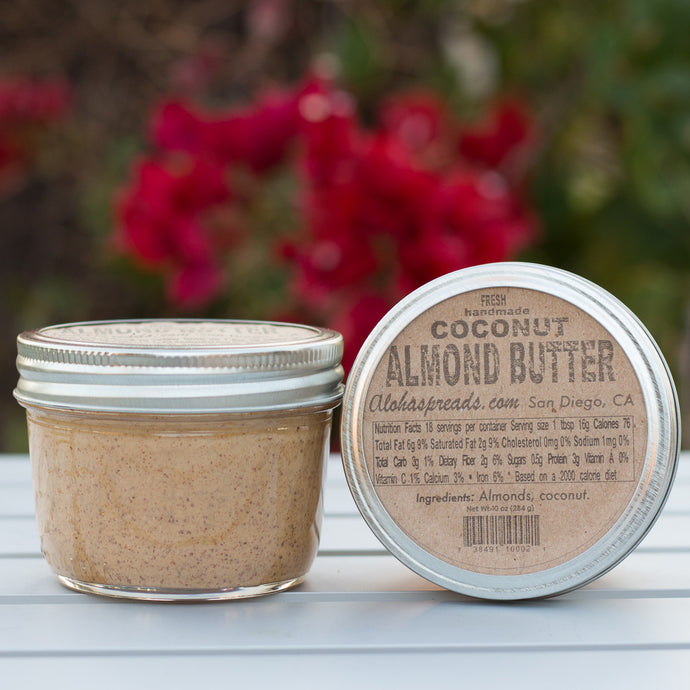 Coconut Almond Butter - Jar   $12    FREE SHIPPING IF YOU ORDER 5