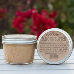 Coconut Almond Butter Jar