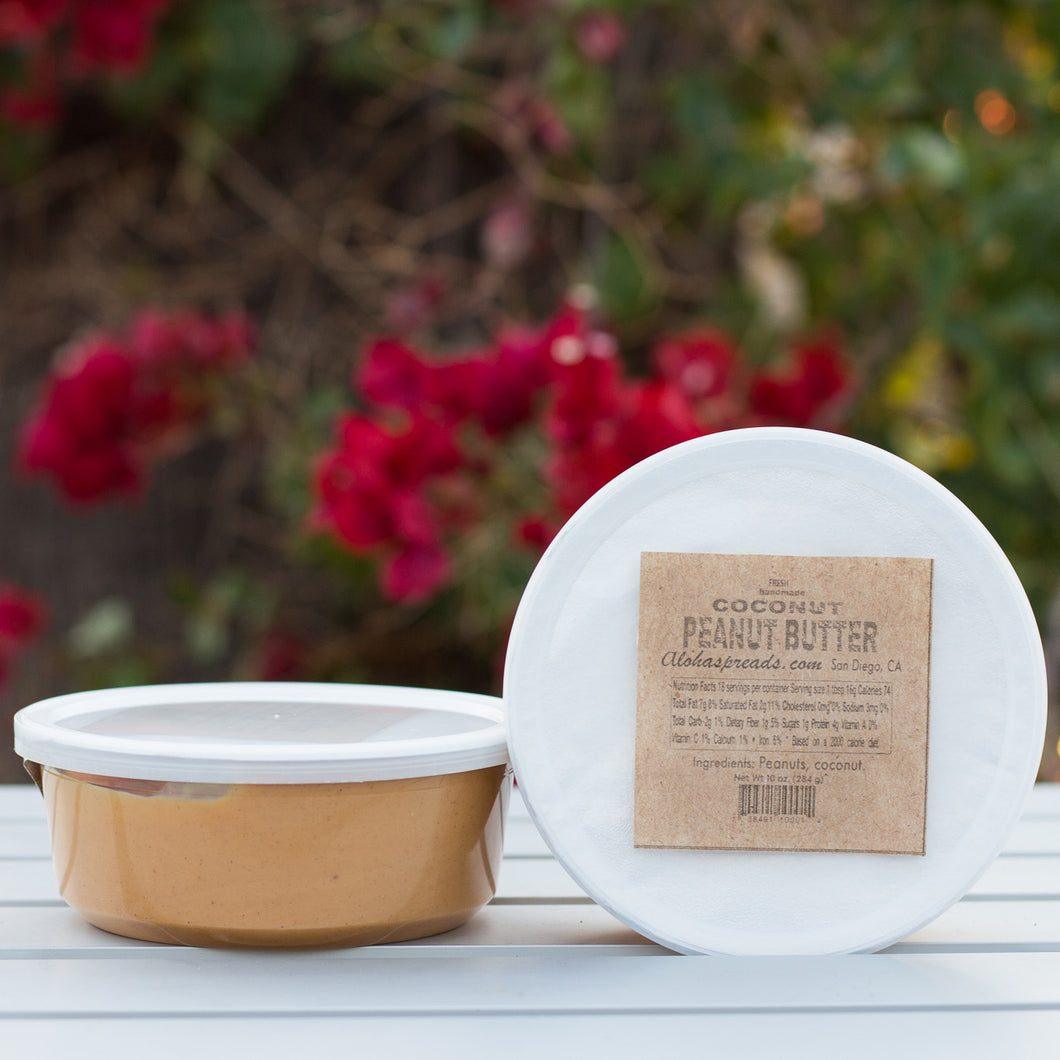 Coconut Peanut Butter - Tub   $7                                    FREE SHIPPING IF YOU ORDER 6