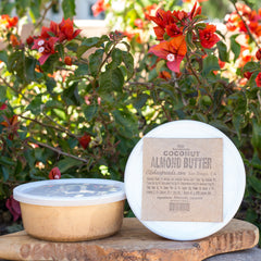 Coconut Almond Butter Tub