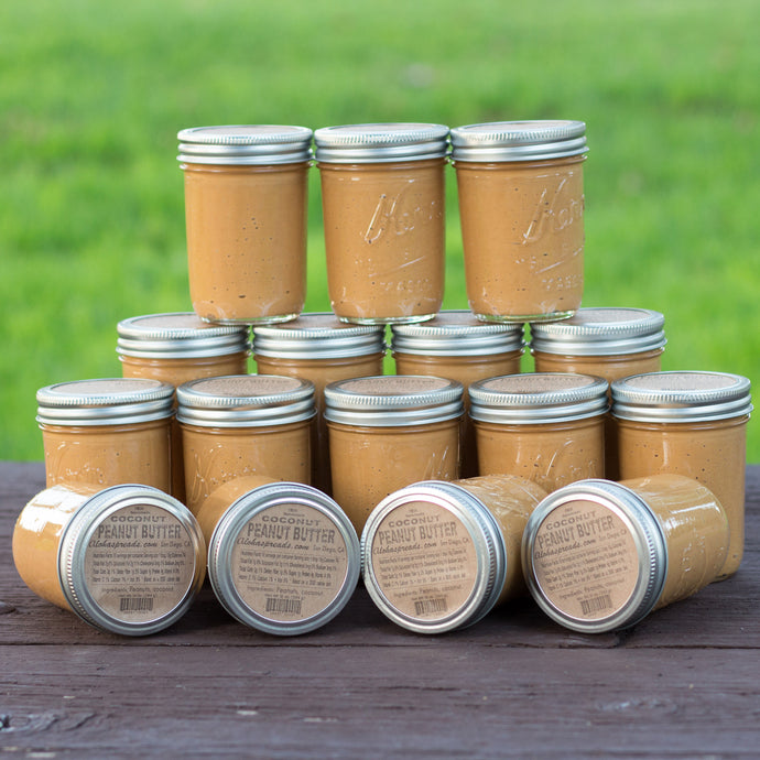Coconut Peanut Butter Wholesale - 16 Jars