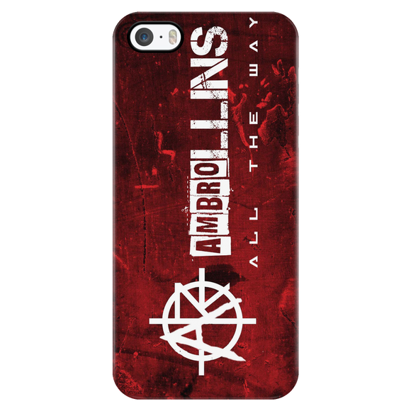 Ambrollins iPhone Case