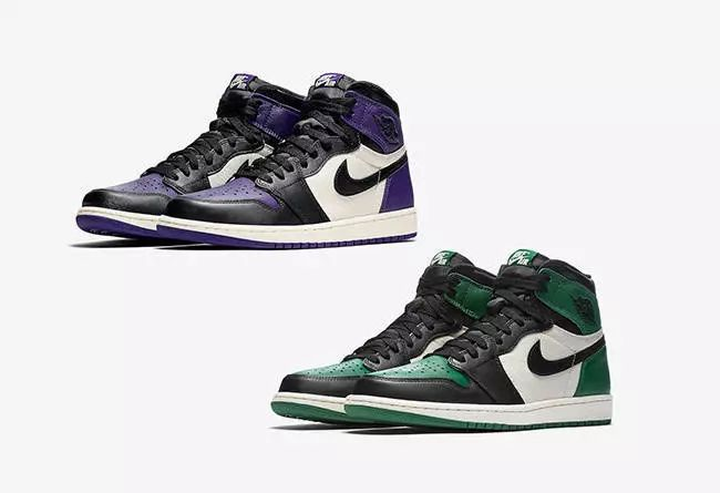 DRAMA ABOUT AJ1 RELEASE | The launch of the green-purple AJ1 sparked