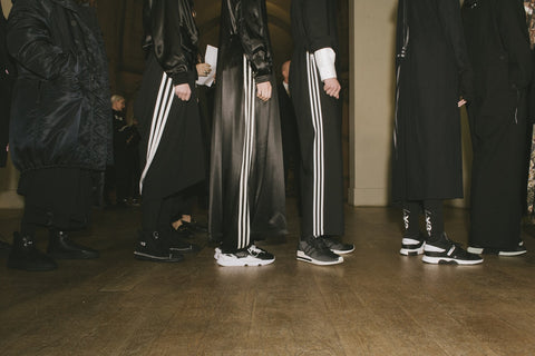 Y-3 AW18 in Paris