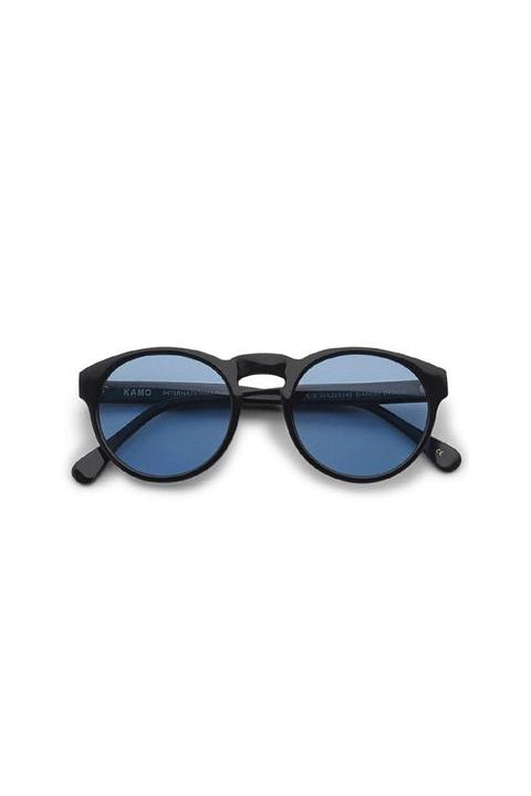 Sunglasses - Blow - Frame Black Lens Blue