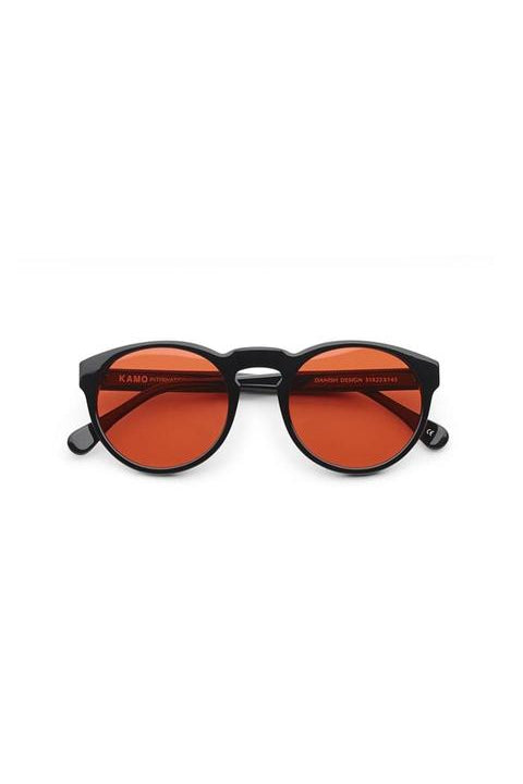 Sunglasses - Blow - Frame Black Lens Red