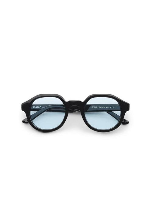 Sunglasses - Palermo - Frame Black Lens Blue