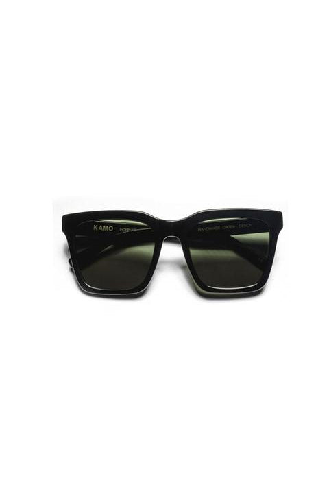 Sunglasses - Isabel - Frame Black Lens Green
