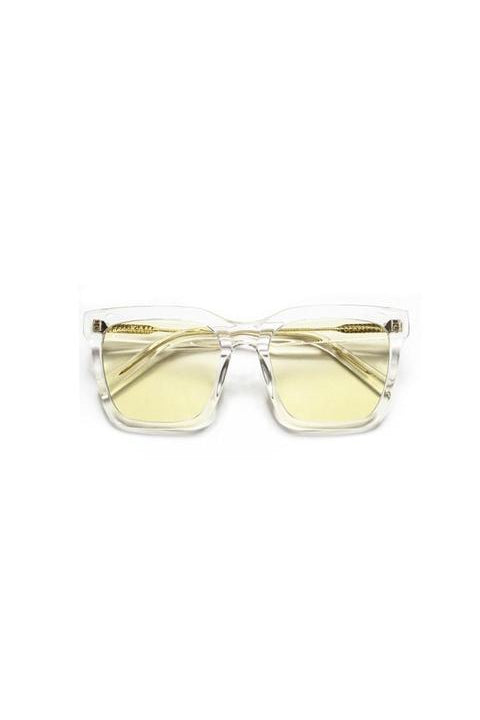 Sunglasses - Isabel - Frame Clear Lens Light Green