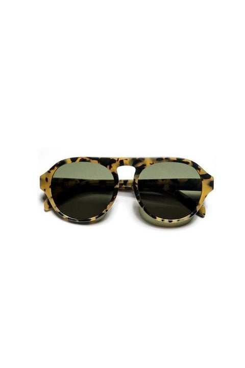 Sunglasses - Carl - Frame Lava Lens Green