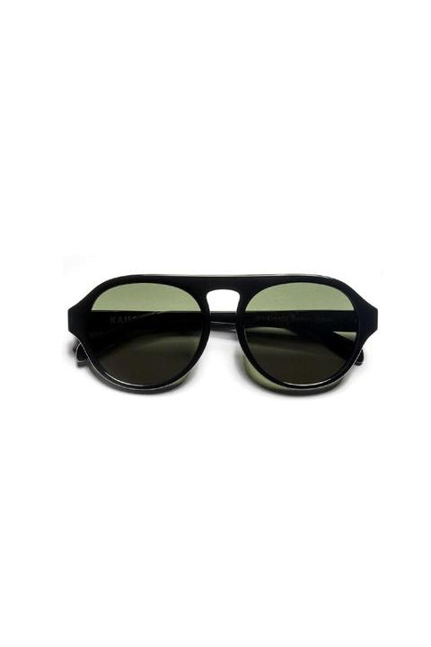 Sunglasses - Carl - Frame Black Lens Green