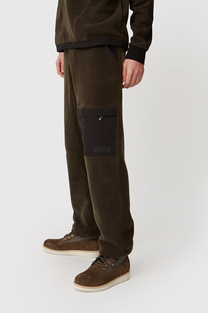 WOOD.WOOD.-SIGURD TROUSERS-DARK GREEN