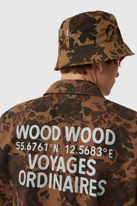 WOOD.WOOD.-AXEL SHIRT-KHAKI AOP