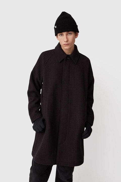 WOOD.WOOD.-FILIP COAT-BROWN CHECK