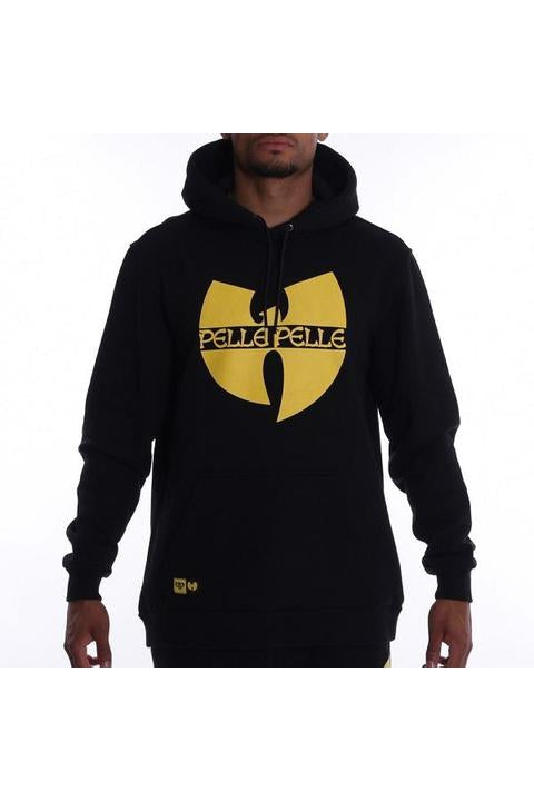 Batlogo mix hoody Black