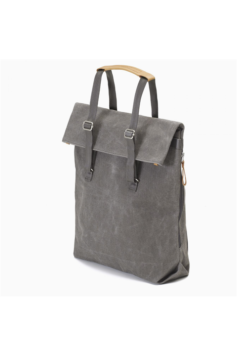 "Day Tote ""Washed Grey"""