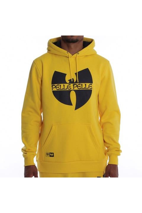 Batlogo mix hoody Yellow