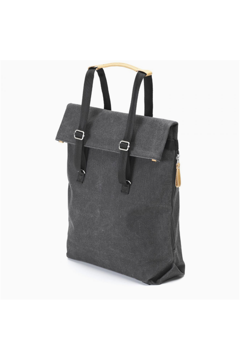 "Day Tote ""Washed Black"""