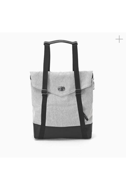 Qwstion - Tote - Raw Blend Leather Canvas