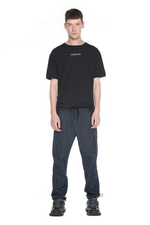 CARGO PANTS - MASARU - RELAXED FIT - NAVY BLUE