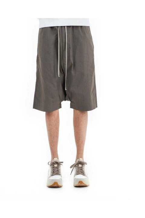 DRAWSTRING PODS SHORTS - DUST
