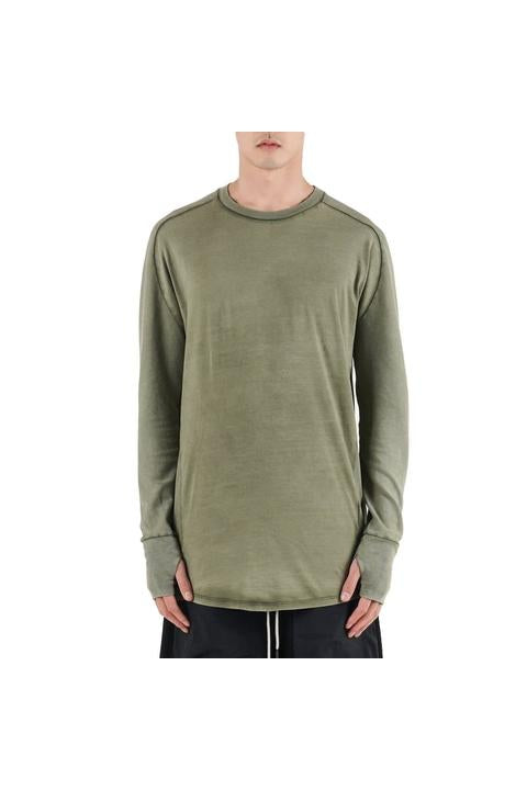 Iso.Poetism - COIL 50/1000 - LONG SLEEVE TEE - OLIVE
