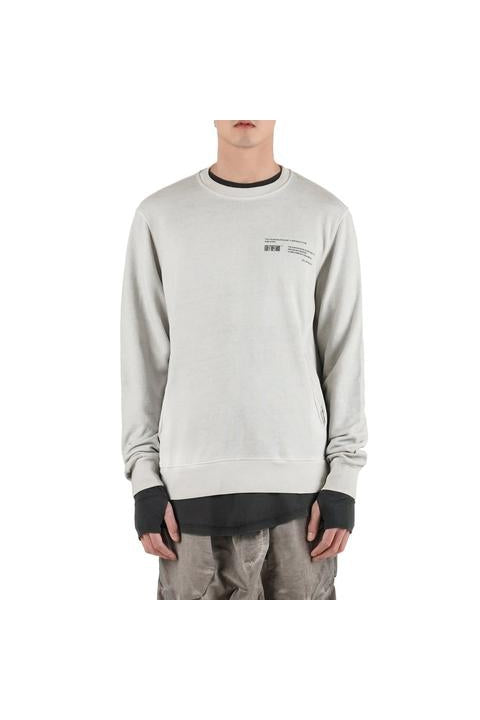 CREWNECK SWEAT - OFF-WHITE