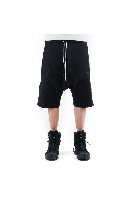 CASUAL SHORTS - BLACK