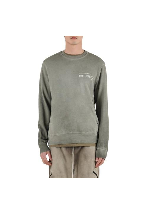 CREWNECK SWEAT - OLIVE