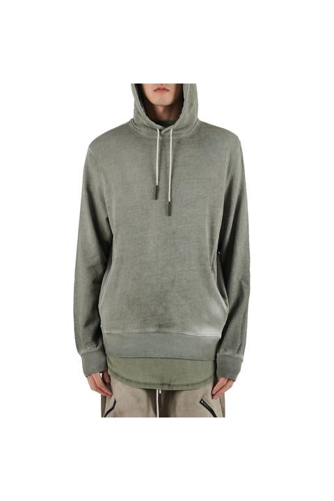 Iso.Poetism - COIL 50/1000 - HOODIE SWEAT - OLIVE
