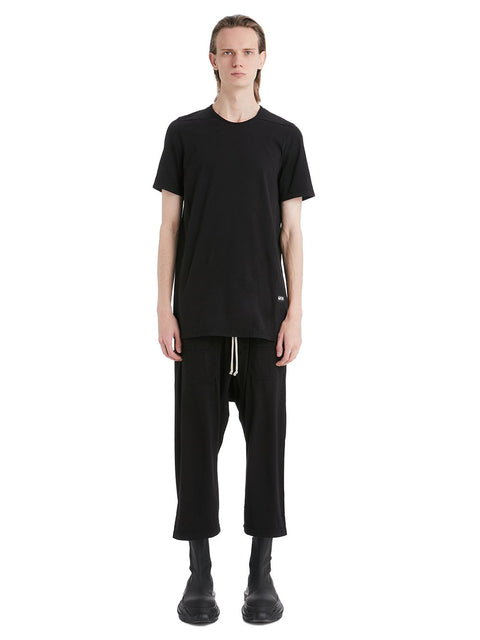 DRKSHDW PHLEGETHON CARGO DRAWSTRING CROPPED PANTS