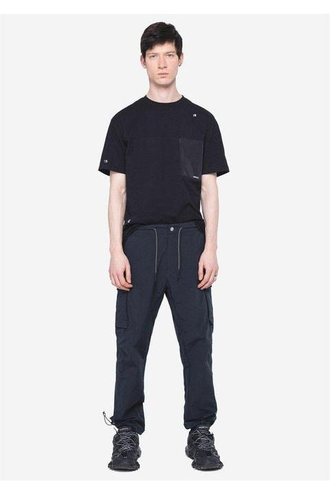 CARGO PANTS - MASARU - RELAXED FIT  - BLACK