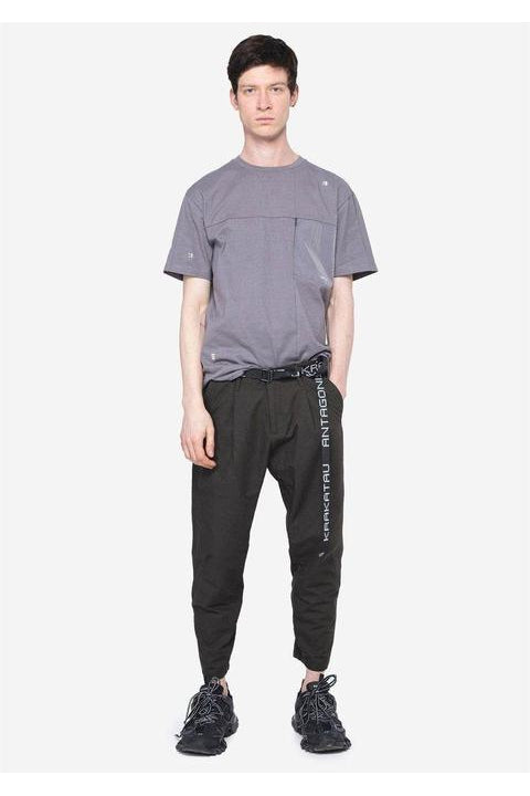 TAPERED PANTS - PANSTARRS - LOOSE FIT  - GREEN