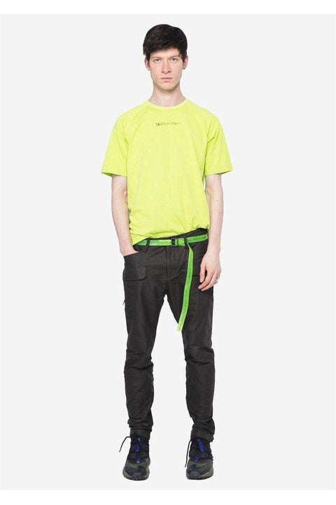 CARGO PANTS - THOLIN - COTTON-NYLON BLEND STRAIGHT  - GREEN
