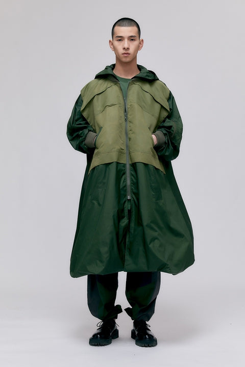 Oversized Windproof Jacket