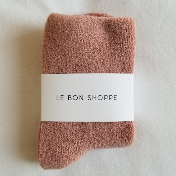 Le Bon Shoppe Cloud Socks Mulberry