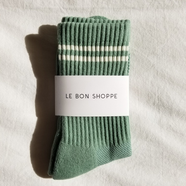 Le Bon Shoppe Socks Moss
