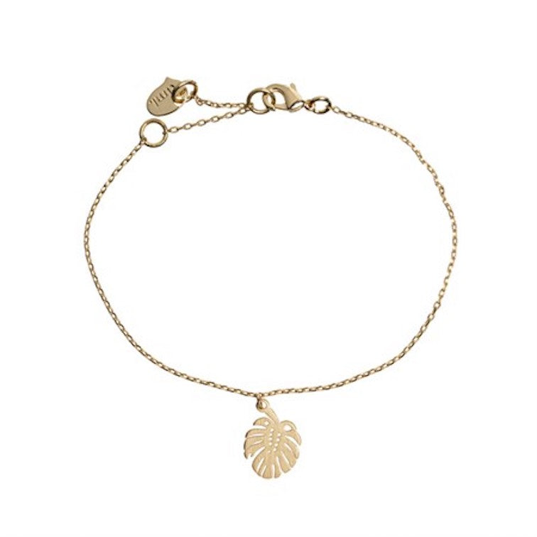 Monstera Bracelet Gold