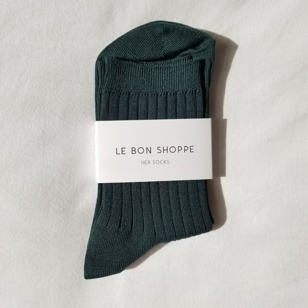 Le Bon Shoppe Socks Her Peacock
