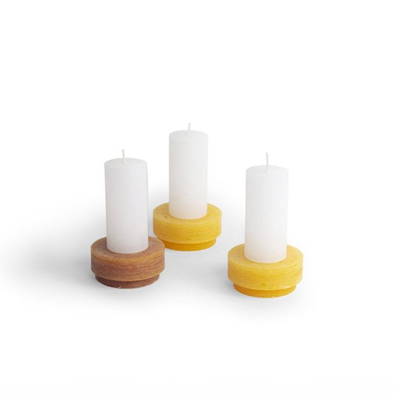 Candl Stack 01 Yellow