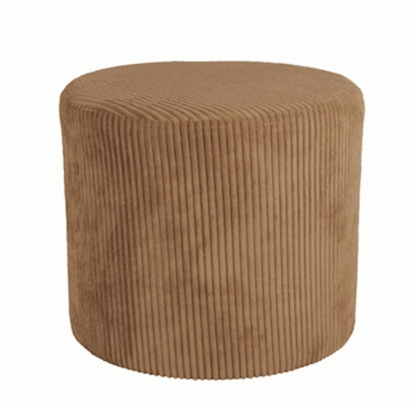 Glam Pouf Caramel Brown