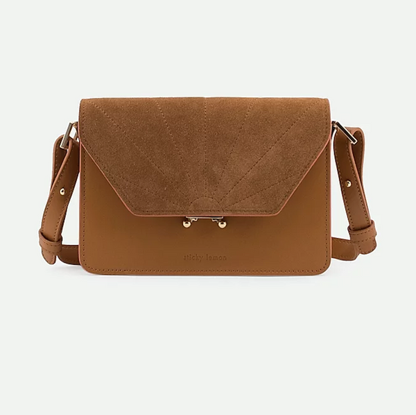 Shoulder Bag Sticky Lemon Cider Brown