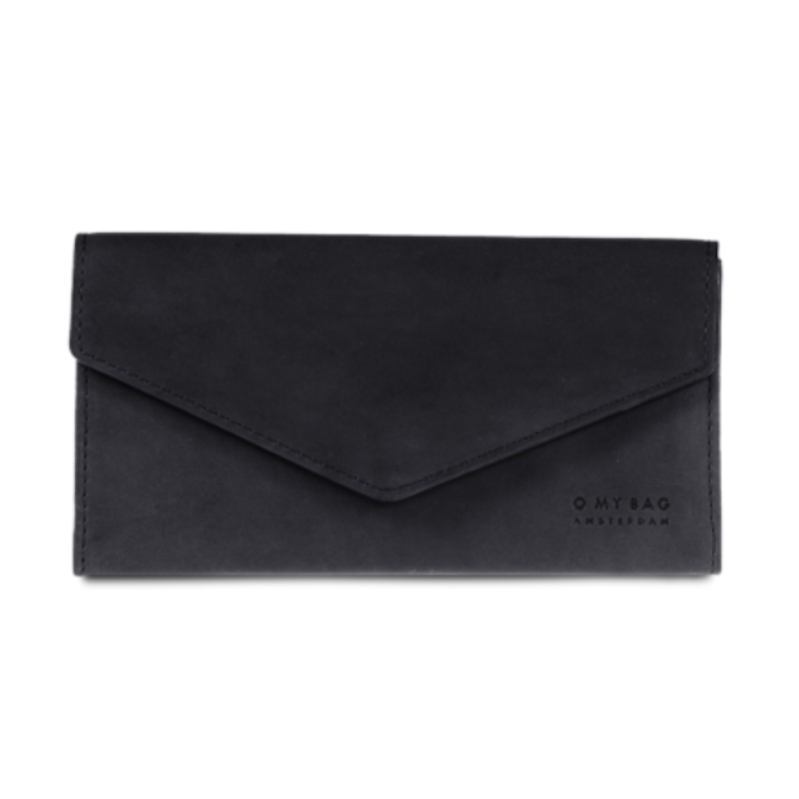 OMB Enveloppe Pixie Pouch Black Classic Leather