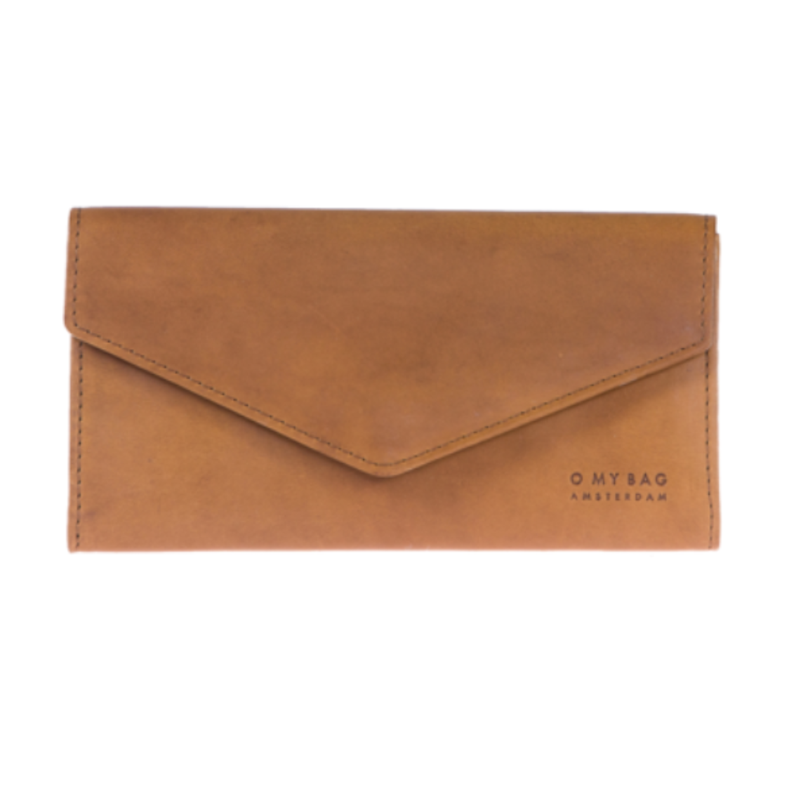 OMB Enveloppe Pixie Pouch Cognac Classic Leather